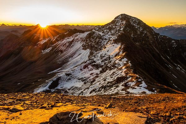 Sonnenaufgang Rothorn