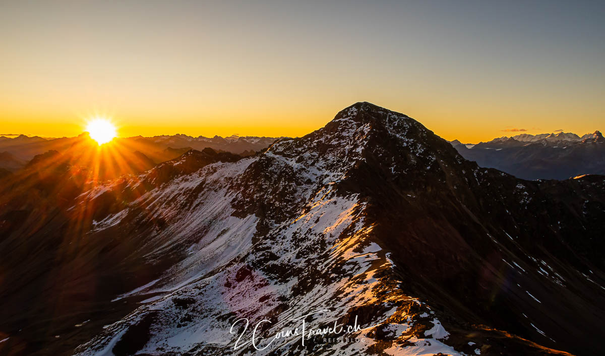 Sonnenaufgangsfahrt Rothorn
