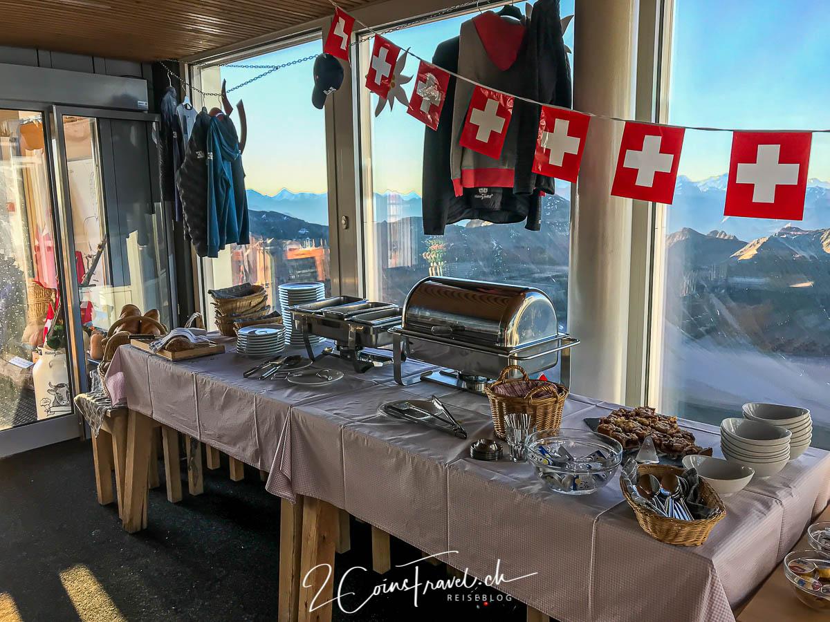 Frühstücksbuffet Rothorn
