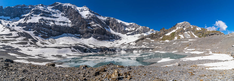 Panorama Gletscherseeli