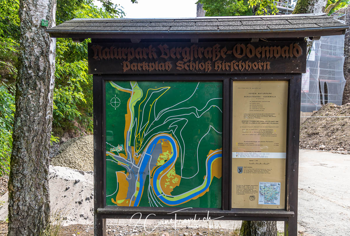 Wanderungen Hirschhorn