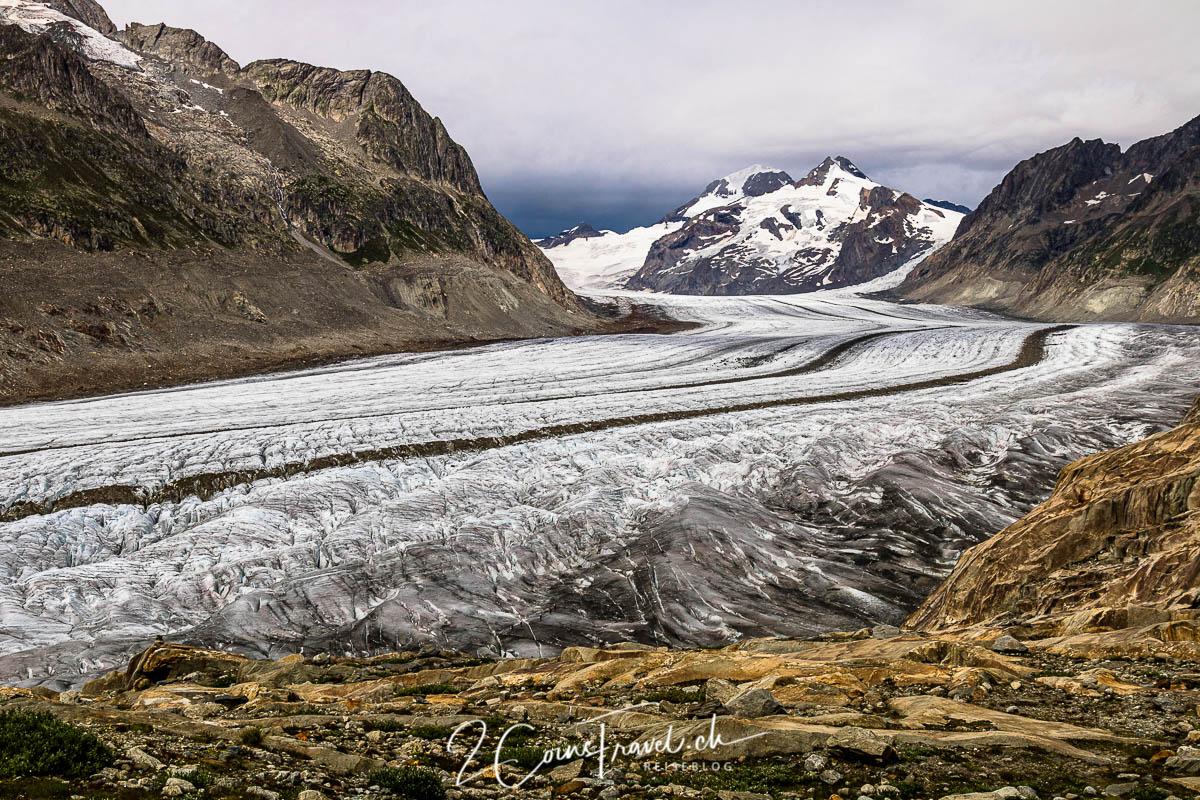Aletschgletscher Oberfläche