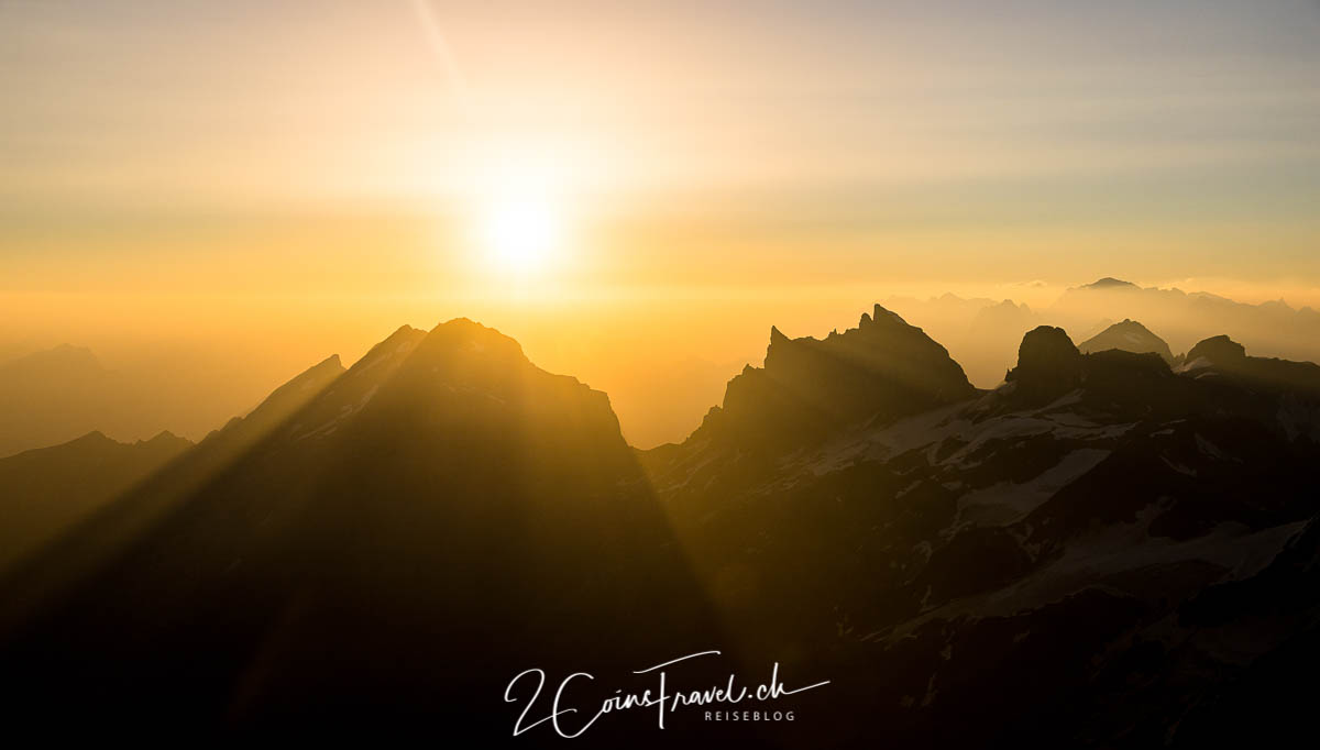 Sonnenaufgang Titlis