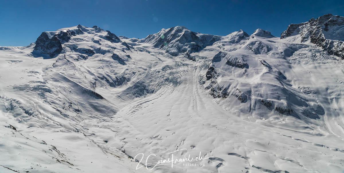 Gornergletscher Winter