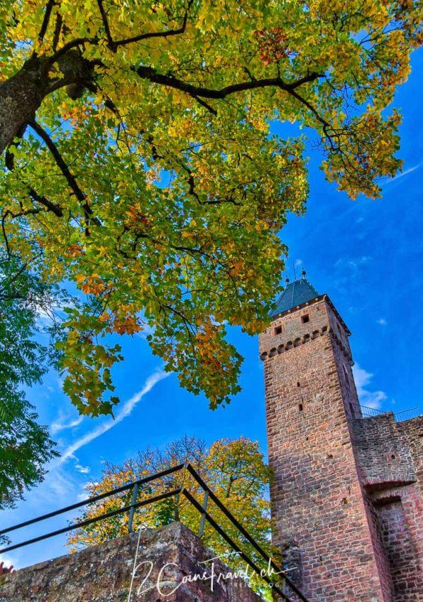 Turm der Burg Hirschhorn