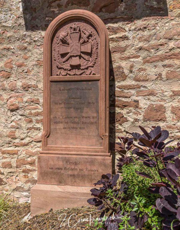 Grabstätte Burg Hirschhorn
