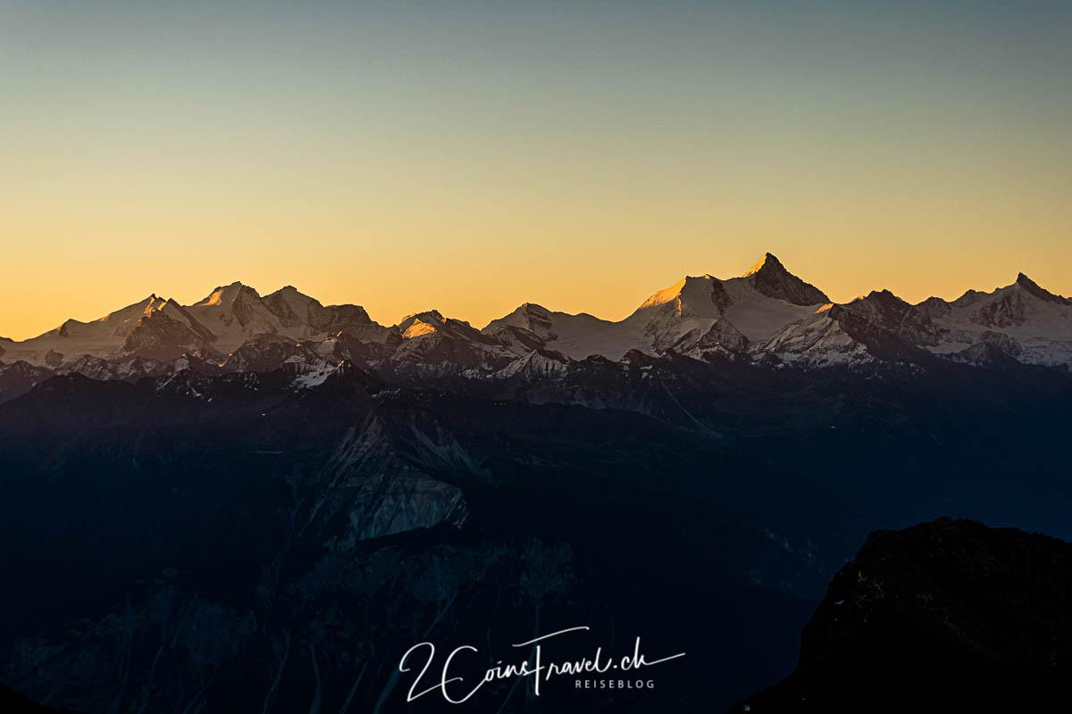 Berggipfel Sonnenaufgang