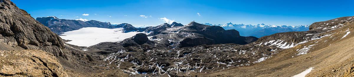 Plaine Morte Gletscher