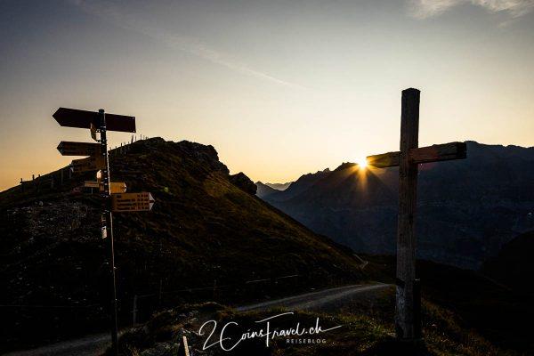 Sonnenaufgang Fisetenpass