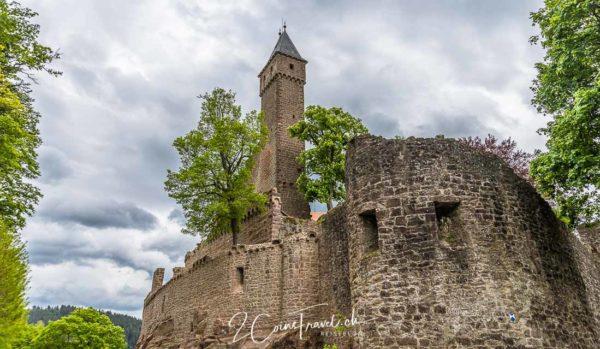 Burgmauer Hirschhorn