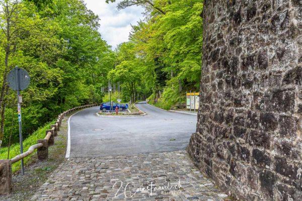 Parkplatz Burg Hirschhorn