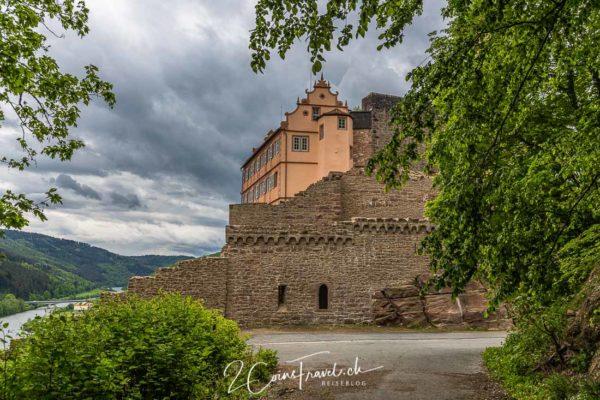 Stadtmauer Burg Hirschhorn