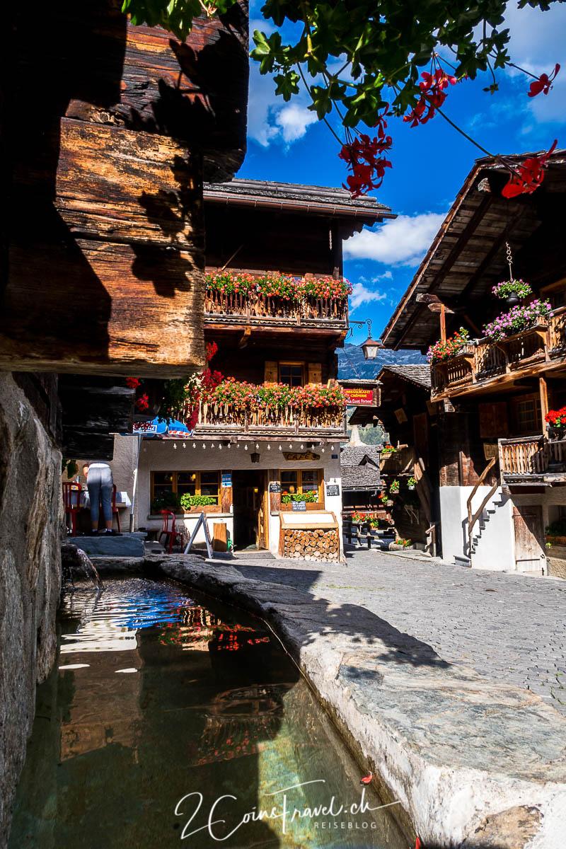 Dorf Grimentz