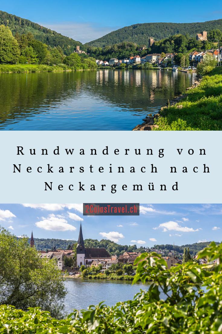 Pinterest Neckarsteinach Wandern