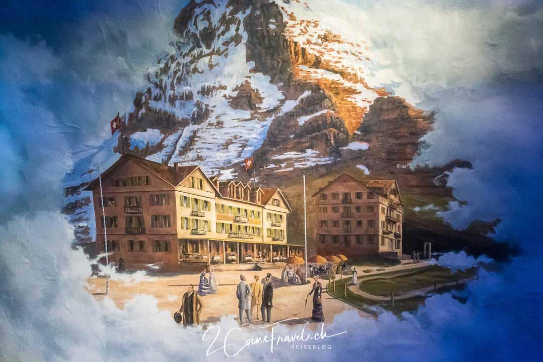Wandbild Kleine Scheidegg