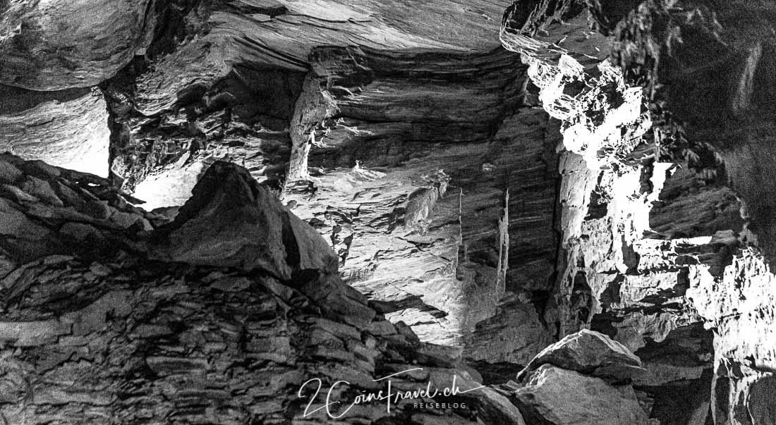Karsthöhle Jungfraujoch