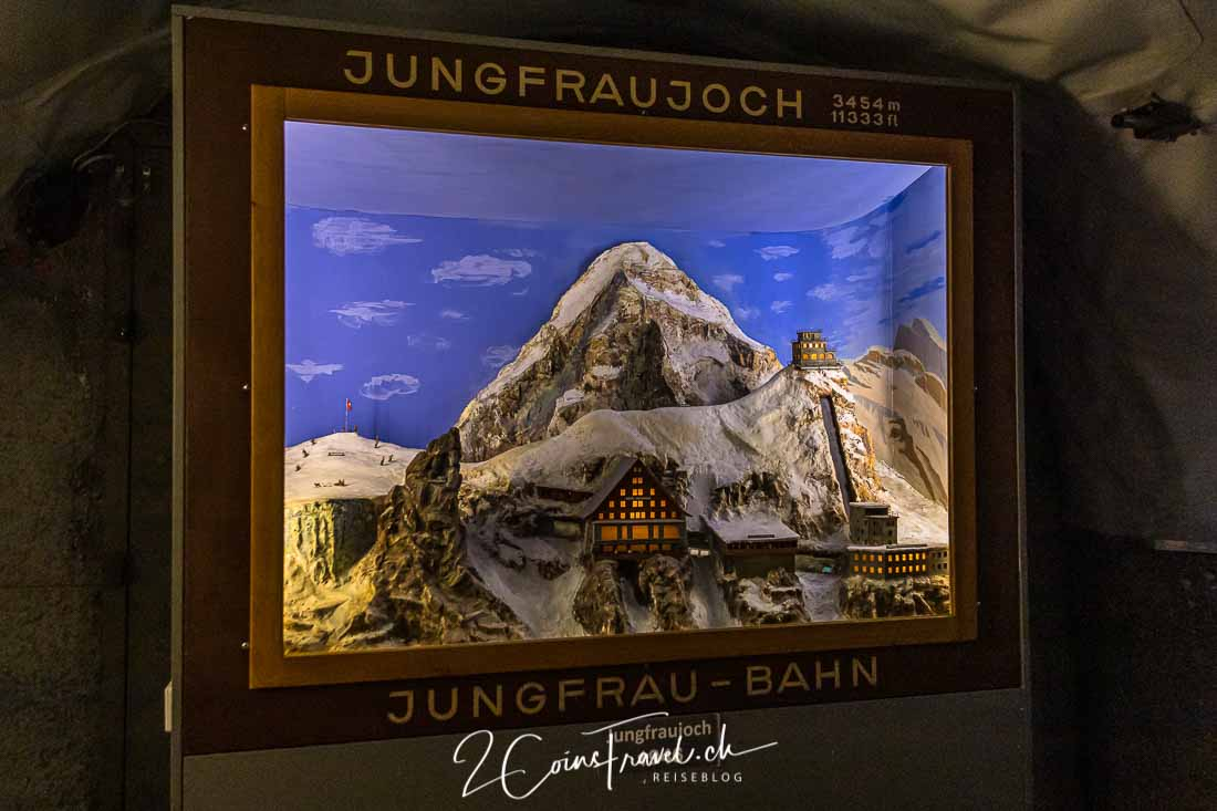 Diorama Jungfrau