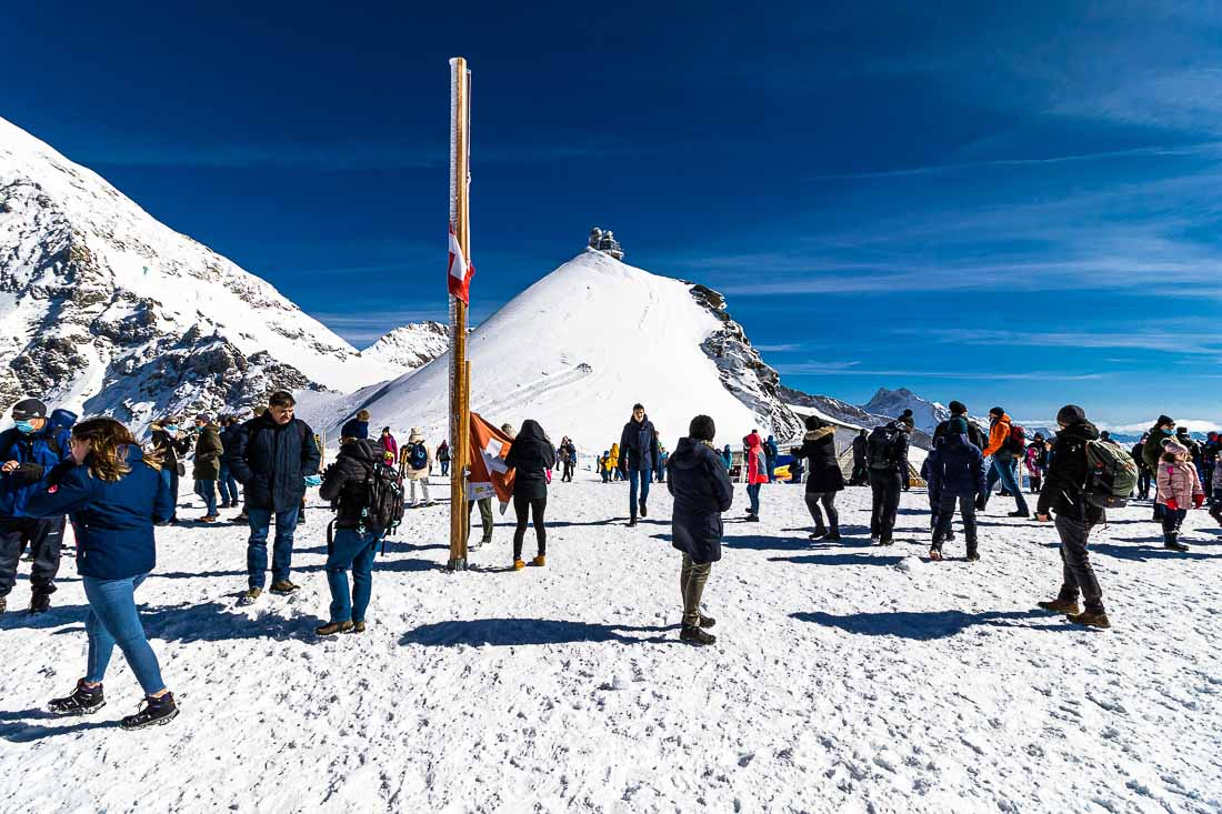 Gletscherplateau Jungfraujoch