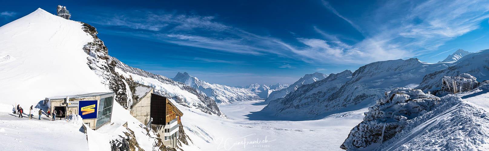Panorama Jungfraujoch