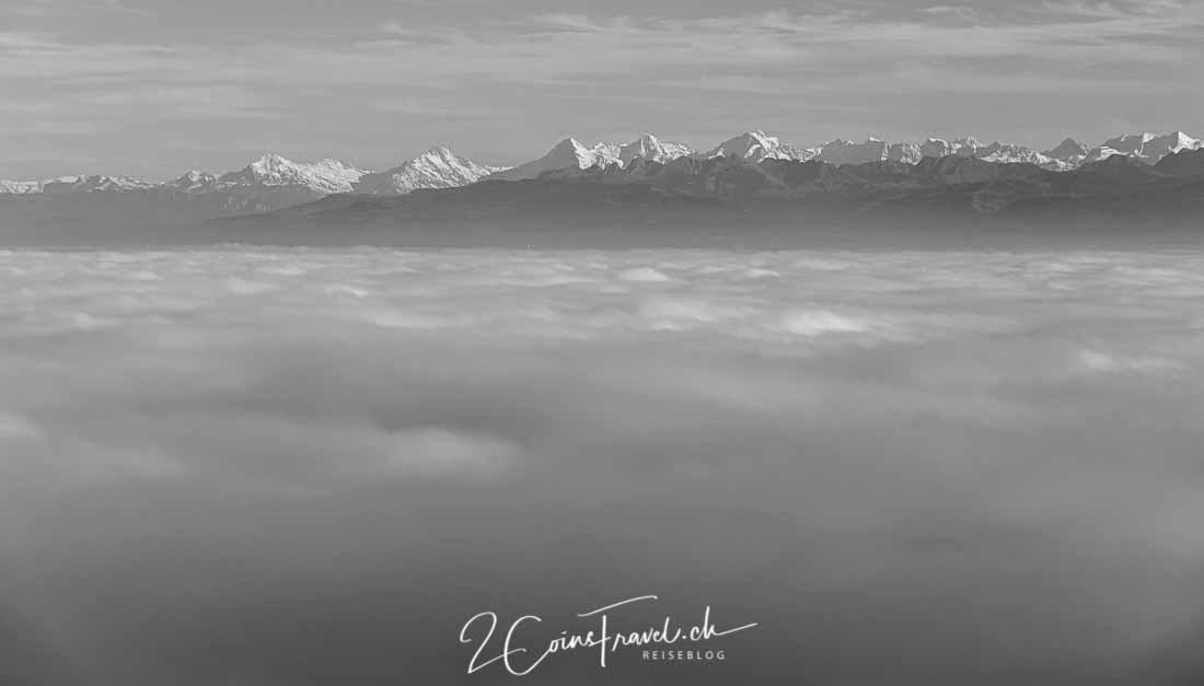Nebelmeer Genfersee