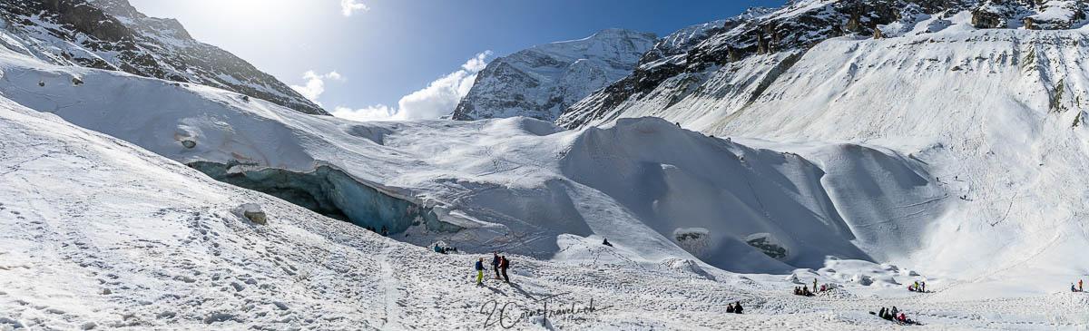 Eisgrotte Zinalgletscher