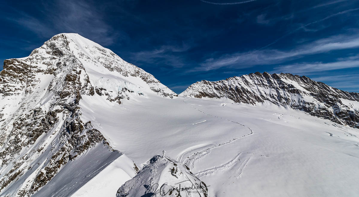 Weg Mönchsjochhütte