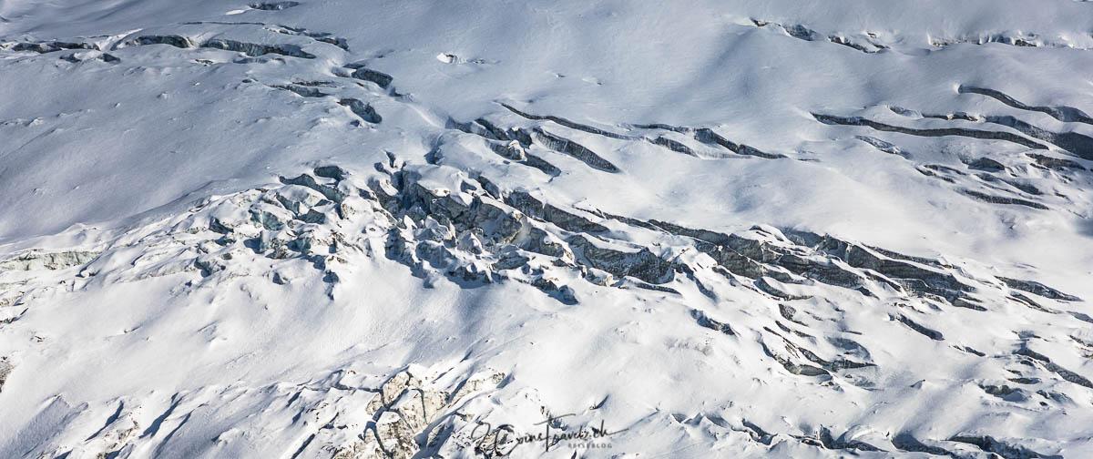 Gletscherspalten