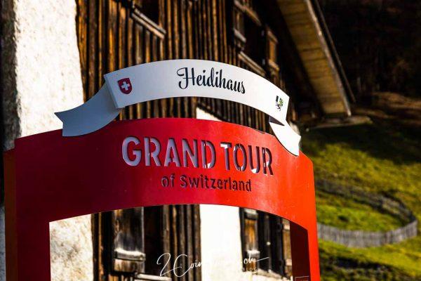 Grand Tour of Switzerland Foto Spot Heidiland