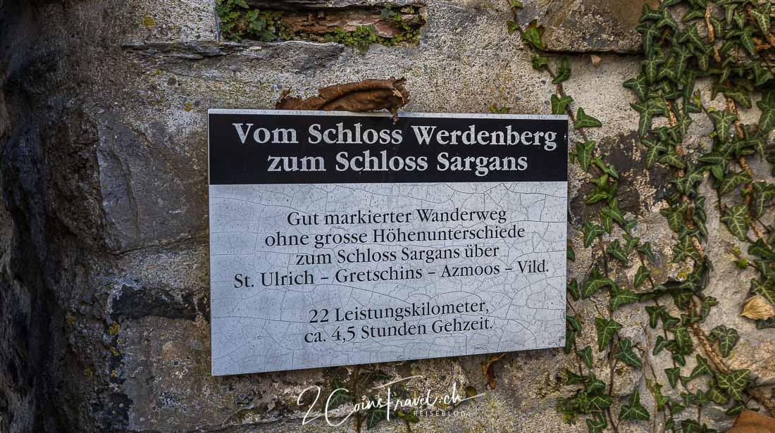 Schlosswanderweg Sargans
