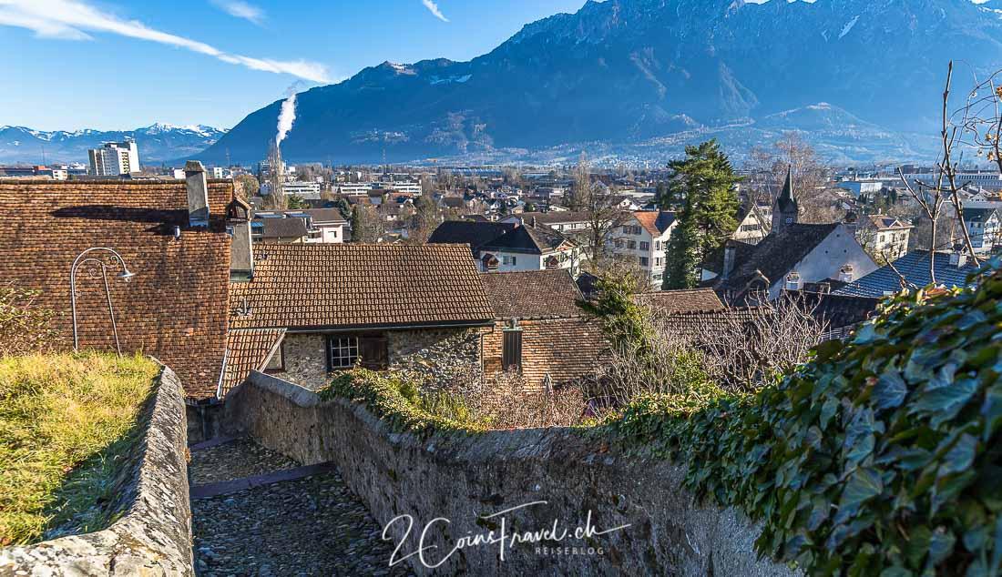 Schlossweg Werdenberg
