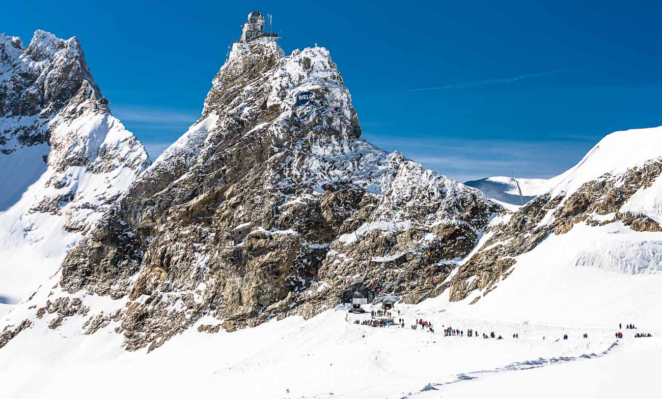Jungfraujoch und Sphinxgebäude