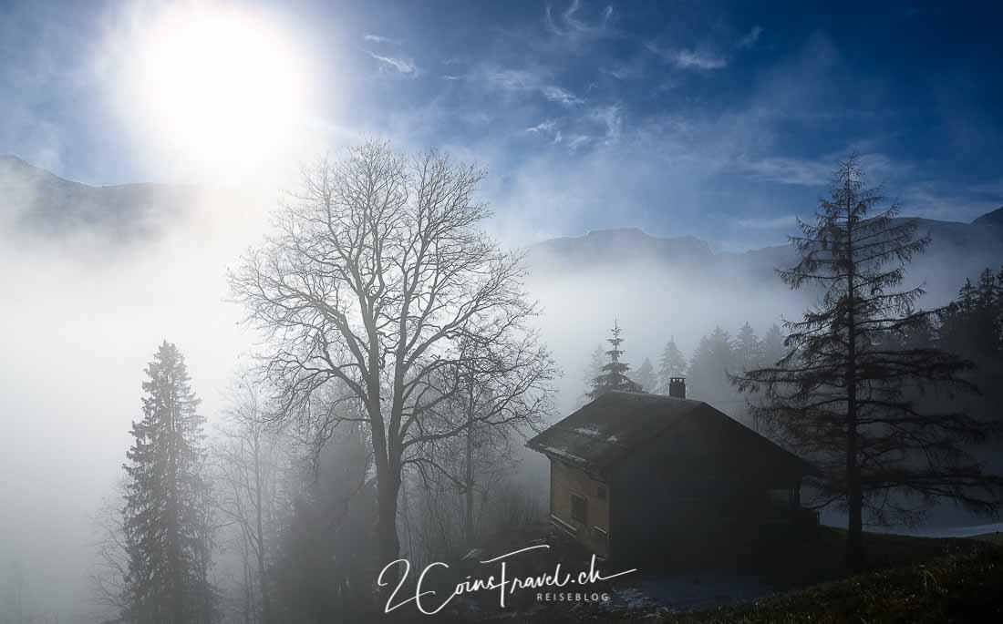 Braunwald im Nebelmeer