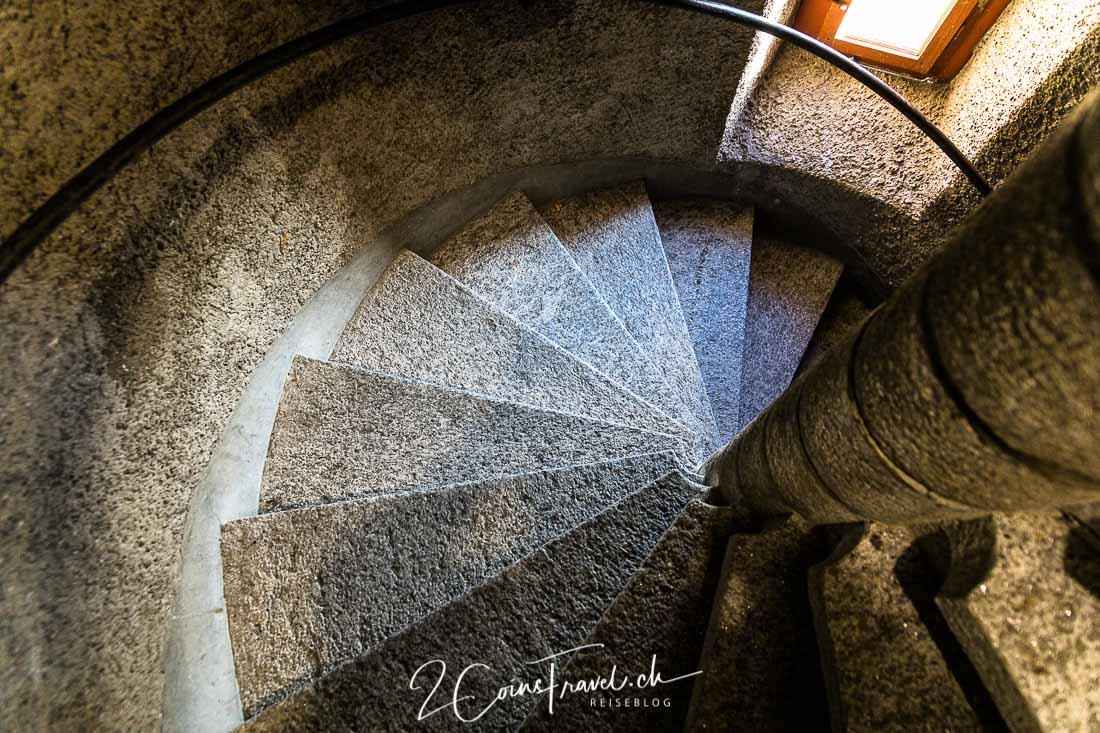 Treppe Schloss Uster