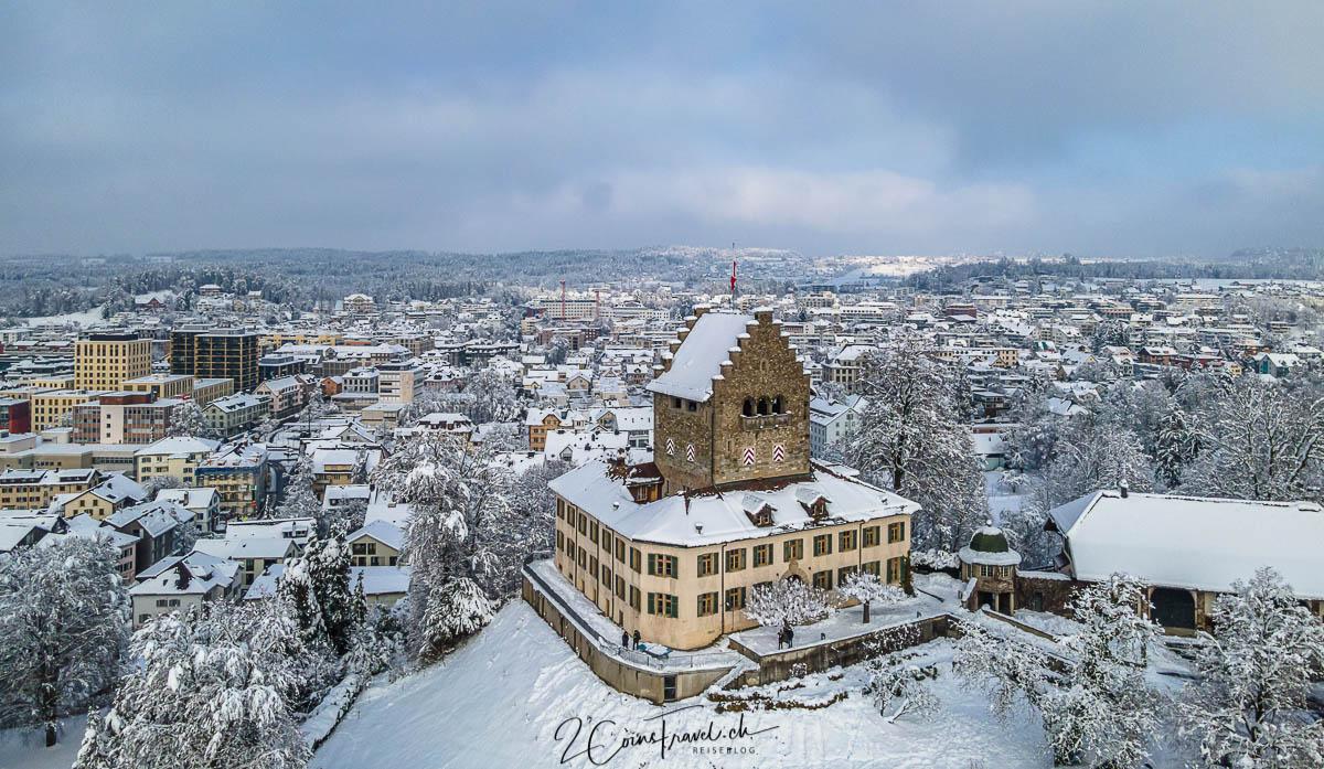 Schloss Uster Winter