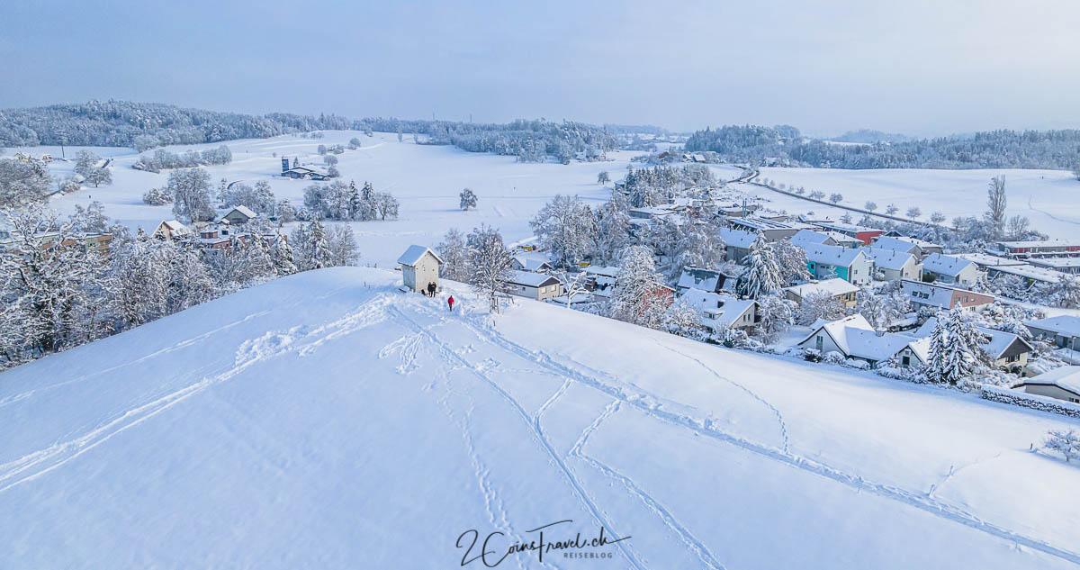 Aussichtspunkt Tämbrig Winter