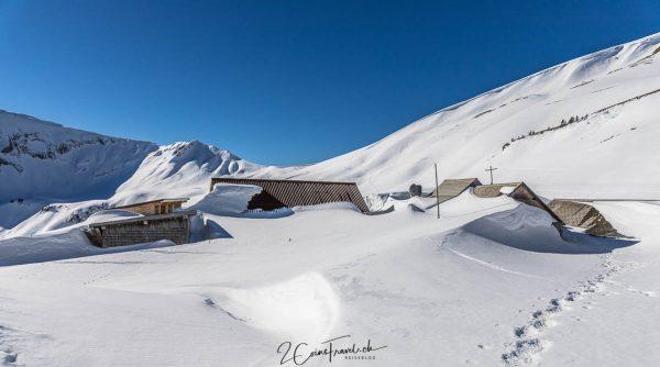 Breitenfeld Turren Winter