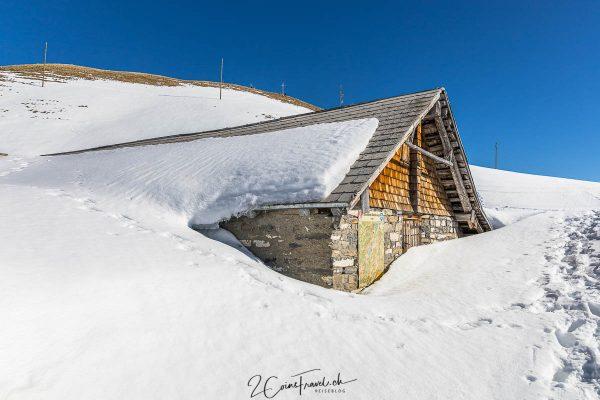Hütte in Breitenfeld