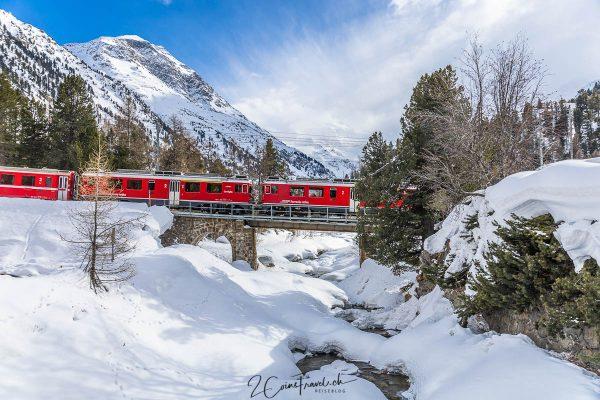 Berninabahn Morteratsch