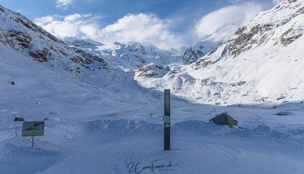 Morteratschgletscher und Gletscherstand 2015