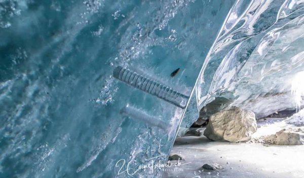 Eishacken Gletschereis