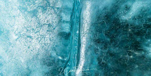 Gletschereisspalte