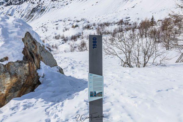 Gletscherstand 1980
