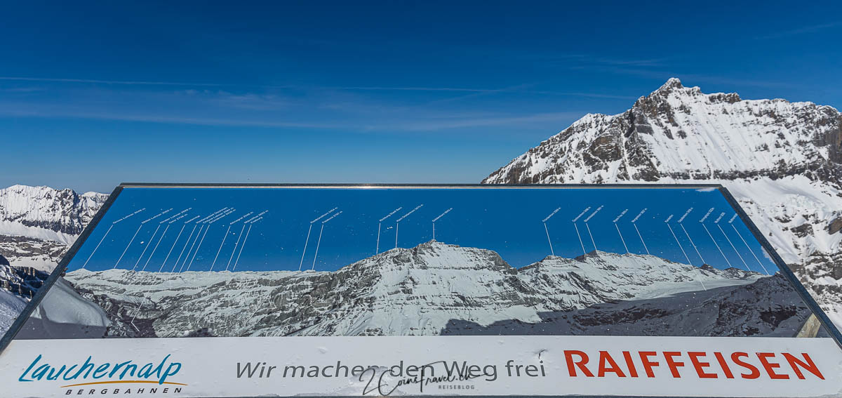 Panoramatafel Aussichtspunkt Hockenhorngrat