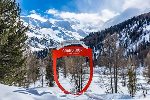 Grand Tour of Switzerland Foto Spot Bernina Glacier