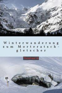 Pinterest Winterwanderung Morteratsch