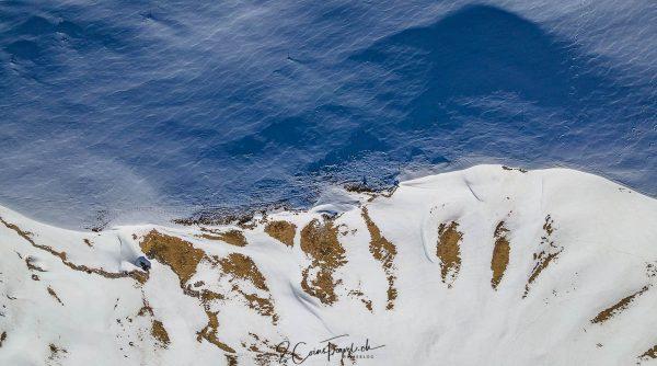 Drohnenbild vom Fisetenpass
