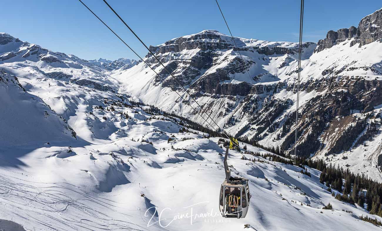 Schneeschuhwanderung Chamerstock