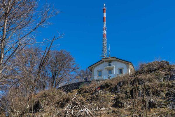 Gipfel Monte San Salvatore