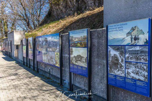 Ausstellung Monte San Salvatore