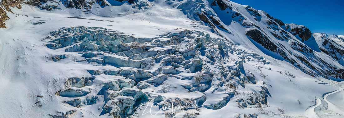 Panoramabild Triftgletscher